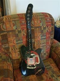 Budweiser guitar clock, $8