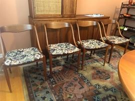 Set of 4 Johannes Andersen Teak Dining Chairs for MM Moreddi, Denmark