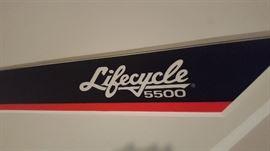 $50  Lifecycle 550 exercise bike