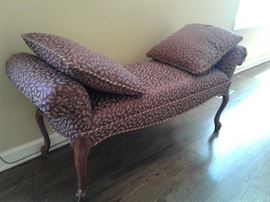 Pretty upholstered bench