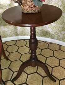Mahogany Pedestal Table, Not available for presale