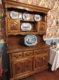 Antique Maple Hutch, Available for Pre-sale $344 (email cindy@thetimefinders.net for appt)