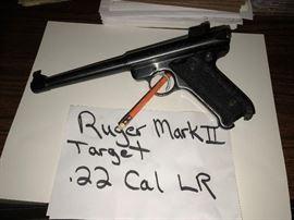 RUGER MARK II TARGET 22