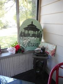 Village of Itasca Tile Hand Made..Large.