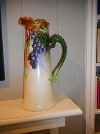Antique Jean Pouyet (1890-1910) Limoges, Hand Painted Gilt Dragon. Tankard