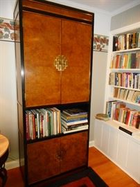 Century Furniture, Bookcase, Lighted. Glass Shelves. Century Furniture Priced to SELL!!