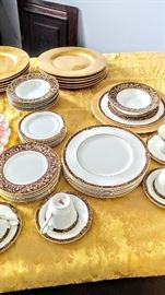 Royal Dalton Tennyson china set for 12