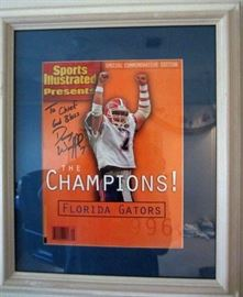 1996 Sports Illustrated magazine signed/autographed by Danny Wuerffel