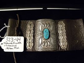 Sterling Silver & Turquoise Native American Jewelry