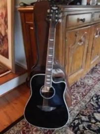 Keith Urban Acoustic Guitar, like new.