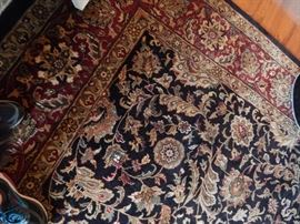 Wool room size rug in great condition. Shows well with no wear.