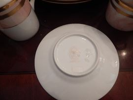 Christian Dior fine china . Mabrae Rose