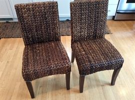 WOVEN Sea Grass CHAIRS, Pottery Barn