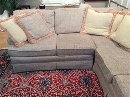 DETAIL OF SECTIONAL SOFA