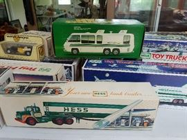 Some of the Hess Trucks