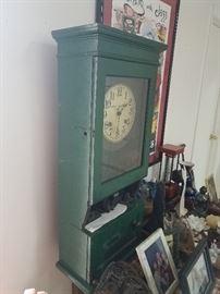Vintage Cincinnati time 30s time clock