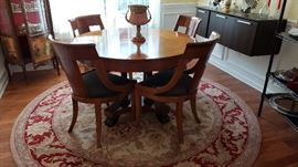 Beautiful Baker cherry dining table