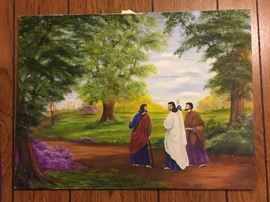 Many gorgeous hand painted original canvas paintings