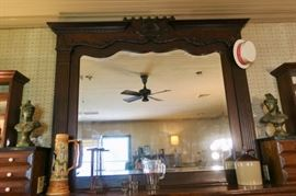 "Mirror measures 68""W x 61H"