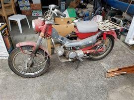 Honda Model CT90 1971