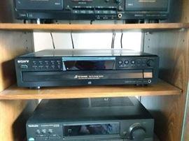 Sony 5 CD Changer
