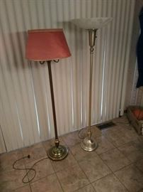 2 Chair Lamps