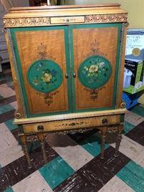 Beautiful sheet music cabinet