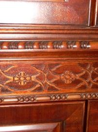 Detail in the China Cabinet