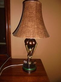 Golf club lamp