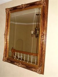 Ornate frames wall mirror