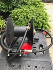 Hose reel for pressure washer