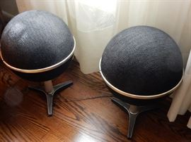 Mid-Century Space Age Globe Speakers