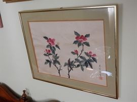 Signed Oriental Watercolor