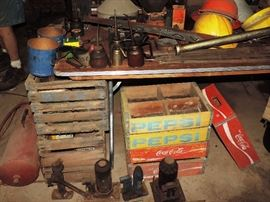 ANTIQUE PEPSI CRATES  15.00 EACH