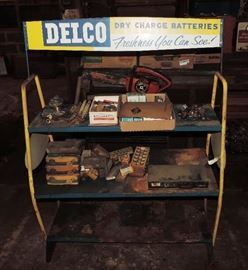 ORIGINAL DELCO BATTERY RACK
