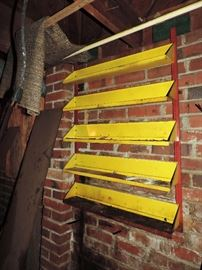 ANTIQUE WALL OIL RACK