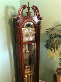 Howard Miller Grandfather Clock in Excellent Condition!