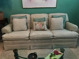 Excellent Condition Matching Sofa with Chair and Ottoman!