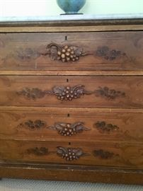 ....with grape drawer pulls