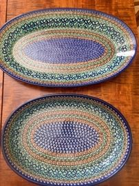 Large platters made in Poland