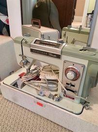 Older model sewing machine