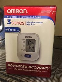 blood pressure monitor (new)