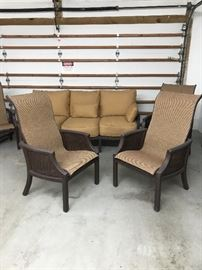Carl's Luxury Patio Furniture w/Sunbrela Fabric.....in Mint Condition