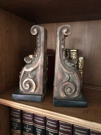 Mid Century Book ends