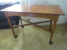 MID-CENTURY SERVING TABLE STICKLEY