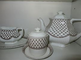 WILLIAM ADAMS CHINA   Pattern  SHARON   MADE IN ENGLAND