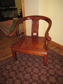 Asian wood Chair