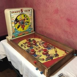 "1930s Vintage State Fair ""Strength Tester"" Pinball Game                  http://www.ctonlineauctions.com/detail.asp?id=721522"