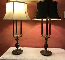 Stately Pair of Table Lamps          http://www.ctonlineauctions.com/detail.asp?id=721530