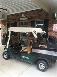 Workhorse golf cart